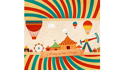 Creative Circus illustrator vector material
