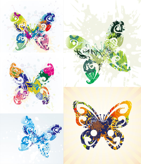 Beautiful butterfly - Vector