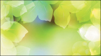 Dream plants background vector -1