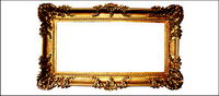 Gold Continental Photo Frame