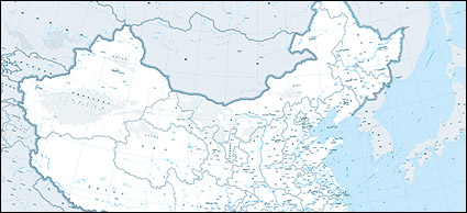 1:400 million Chinese map (waterway shipping version)